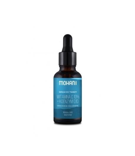 Odmładzająco - rozjaśniające serum z witaminą C 10% i koenzymem Q10 - MOHANI 30 ml