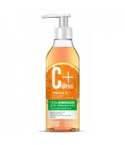 C+ Citrus Żel - energizer do mycia twarzy z kompleksem przeciw starzeniu - Fitokosmetik 240 ml