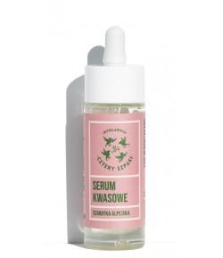 Serum Kwasowe - Szarotka Alpejska - Mydlarnia Cztery Szpaki 30 ml