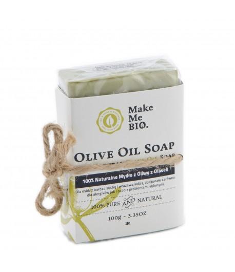 100% Naturalne Mydło z Oliwy z Oliwek - Make Me Bio 100 g