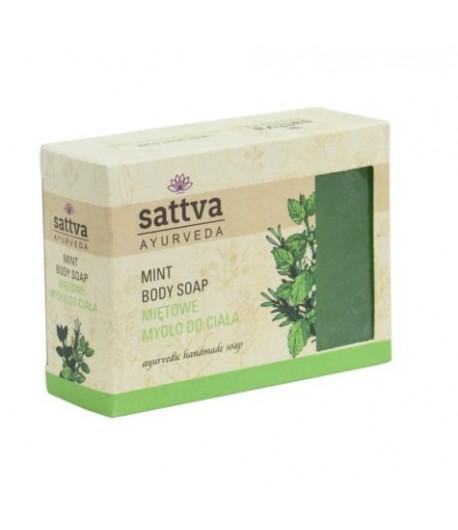 Mydło glicerynowe Mięta - Sattva 125g