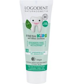 Żel do zębów dla dzieci - miętowy - Logona 50 ml