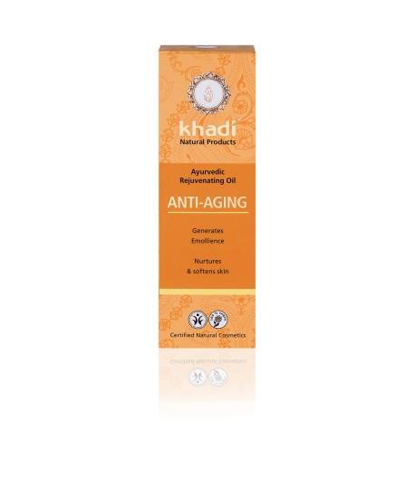 Anti-Aging - ajurwedyjski olejek przeciwzmarszczkowy - Khadi 100ml