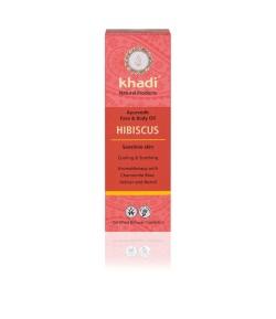 Hibiskus - ajurwedyjski olejek do twarzy i ciała - Khadi 100ml