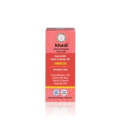 Hibiskus - ajurwedyjski olejek do twarzy i ciała - Khadi 10ml