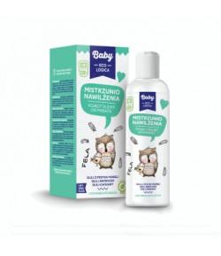 Mistrzunio nawilżenia - kojący olejek do masażu - Baby EcoLogica 150 ml